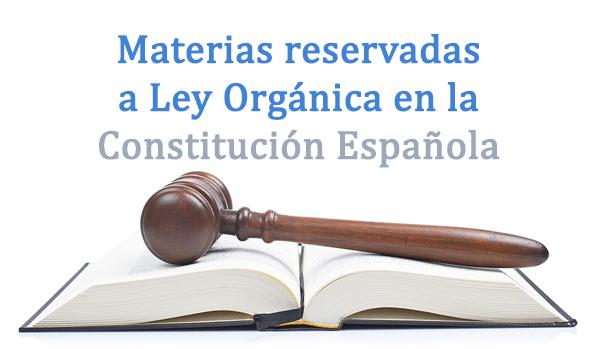artículo 81 constitución española