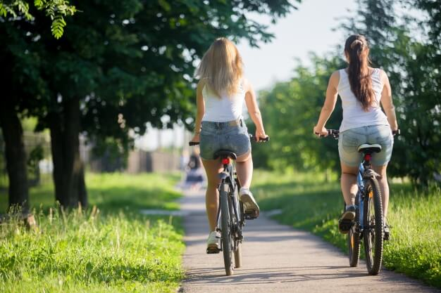 cuando usar el casco de la bici
