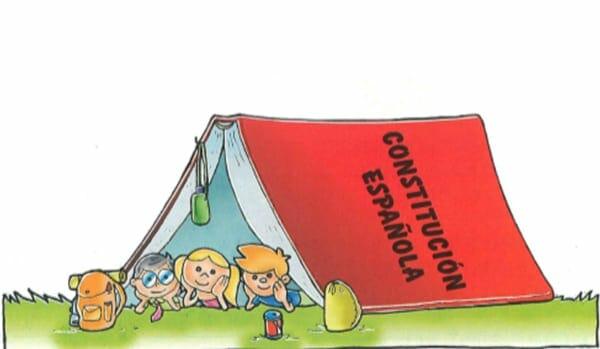 constitucion española para niños