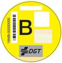 etiqueta ambiental B