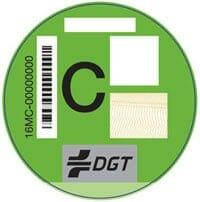 etiqueta ambiental C