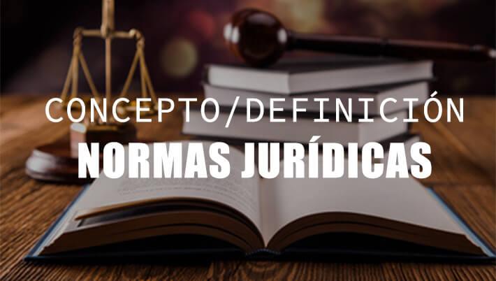 qué son las normas jurídicas