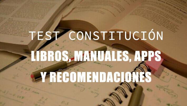 test constitucion